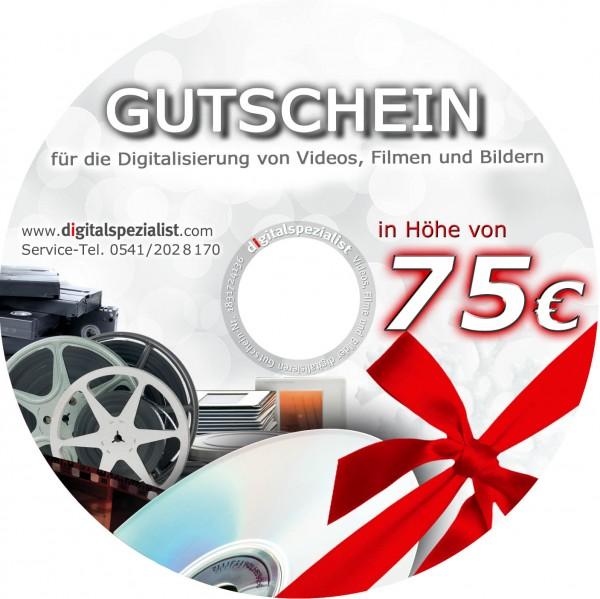 Geschenk-Gutschein 75€