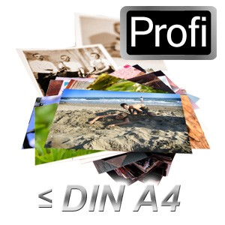 Fotos scannen bis DIN A4 in Profi-Qualität