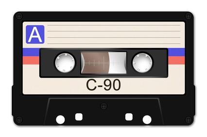 C-90 Musikkassette