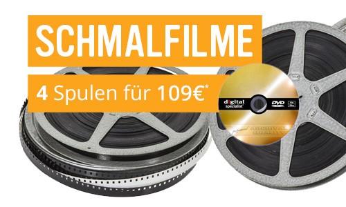 4 Schmalfilme digitalisieren in Archiv-Qualität
