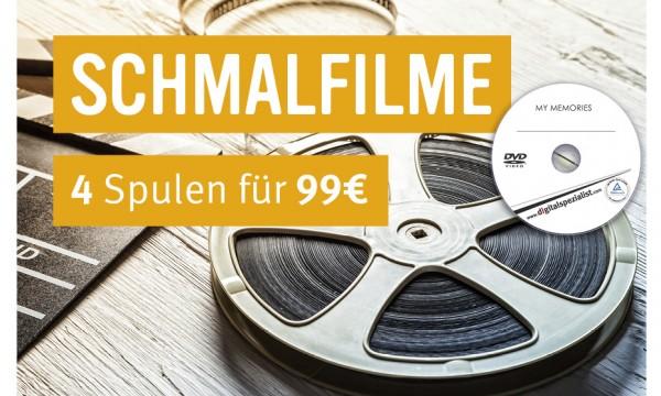4 Schmalfilme digitalisieren auf DVD