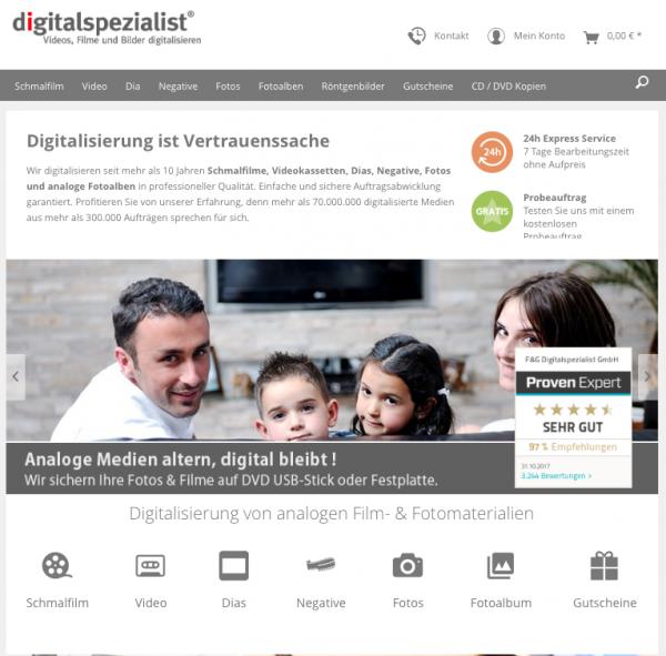 Startseite-Digitalspezialist