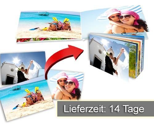 Kleines Fotobuch mit 20 oder 50 Bildern