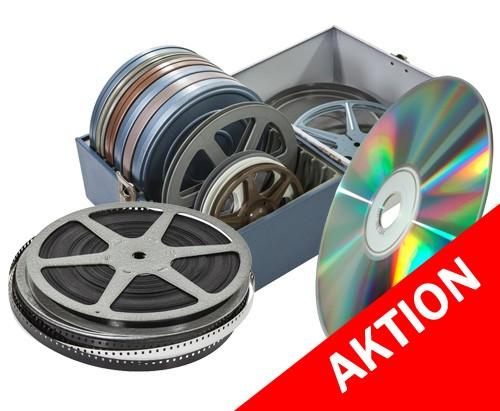 Schmalfilme digitalisieren auf DVD