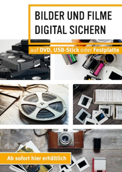 Plakat Fotoalben digitalisieren