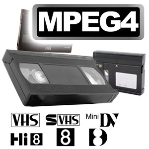 Videos digitalisieren im MPEG4-Format