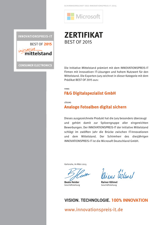 Innovationspreis-IT-2015-Zertifikat