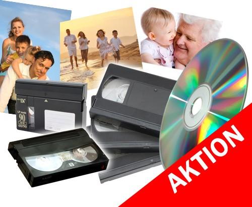 Videokassetten VHS, VHS-C und viele mehr auf DVD digitalisieren