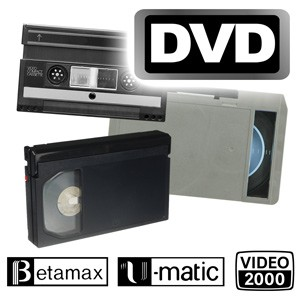 Sonderformate digitalisieren auf DVD-Video