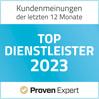 Auszeichnung Proven Expert Top-Dienstleister 2019 für digitalspezialist.