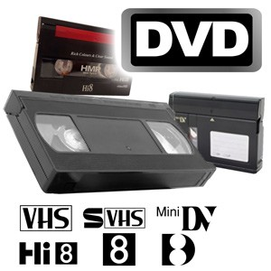Videos digitalisieren auf DVD-Video