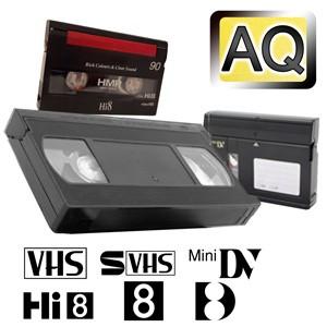 Videos digitalisieren in Archiv-Qualität